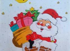 关于圣诞节和圣诞老人的儿童画画图片大全 (12).jpg