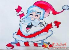 关于圣诞节和圣诞老人的儿童画画图片大全 (53).jpg