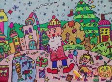 关于圣诞节和圣诞老人的儿童画画图片大全 (49).jpg