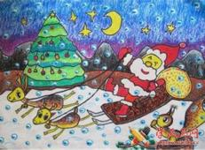 关于圣诞节和圣诞老人的儿童画画图片大全 (58).jpg