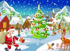 关于圣诞节和圣诞老人的儿童画画图片大全 (32).jpg