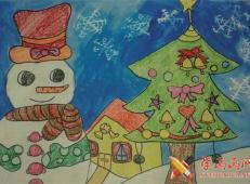 关于圣诞节和圣诞老人的儿童画画图片大全 (8).jpg