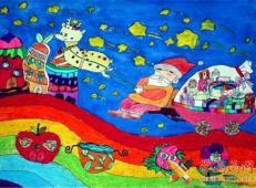 关于圣诞节和圣诞老人的儿童画画图片大全 (3).jpg