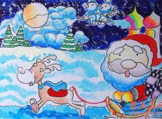 关于圣诞节和圣诞老人的儿童画画图片大全 (9).jpg