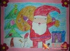 关于圣诞节和圣诞老人的儿童画画图片大全 (10).jpg