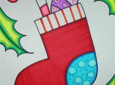 关于圣诞节和圣诞老人的儿童画画图片大全 (22).jpg