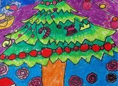 关于圣诞节和圣诞老人的儿童画画图片大全 (7).jpg