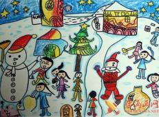 关于圣诞节和圣诞老人的儿童画画图片大全 (59).jpg