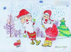 关于圣诞节和圣诞老人的儿童画画图片大全 (44).jpg