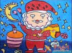 关于圣诞节和圣诞老人的儿童画画图片大全 (40).jpg