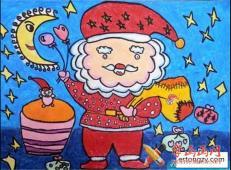 关于圣诞节和圣诞老人的儿童画画图片大全 (25).jpg