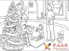 关于圣诞节和圣诞老人的儿童画画图片大全 (46).jpg