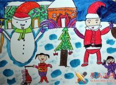 关于圣诞节和圣诞老人的儿童画画图片大全 (60).jpg