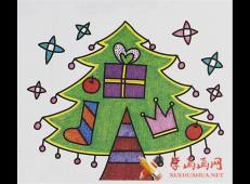 关于圣诞节和圣诞老人的儿童画画图片大全 (38).jpg