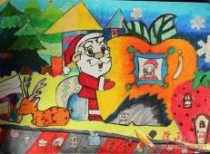 关于圣诞节和圣诞老人的儿童画画图片大全 (27).jpg