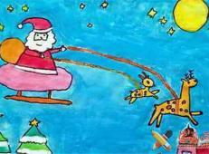 关于圣诞节和圣诞老人的儿童画画图片大全 (52).jpg
