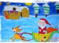 关于圣诞节和圣诞老人的儿童画画图片大全 (37).jpg