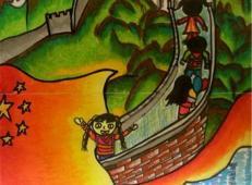 关于长城的儿童画图片大全 (23).jpg