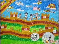 关于长城的儿童画图片大全 (26).jpg