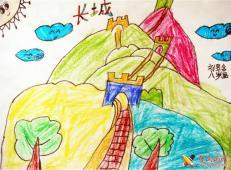 关于长城的儿童画图片大全 (14).jpg