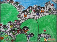 关于长城的儿童画图片大全 (33).jpg