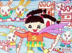 关于长城的儿童画图片大全 (19).jpg
