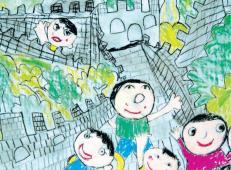 关于长城的儿童画图片大全 (15).jpg