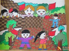 关于长城的儿童画图片大全 (20).jpg