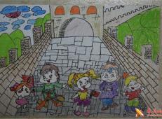 关于长城的儿童画图片大全 (21).jpg