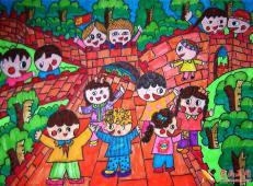 关于长城的儿童画图片大全 (9).jpg