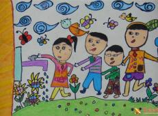 关于节约用水的儿童画画图片大全 (16).jpg