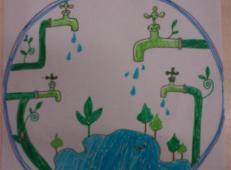 关于节约用水的儿童画画图片大全 (14).jpg
