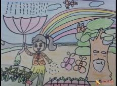 关于节约用水的儿童画画图片大全 (44).jpg