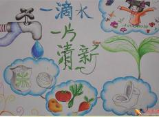 关于节约用水的儿童画画图片大全 (42).jpg