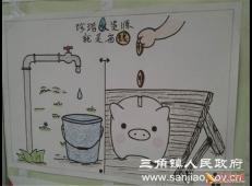 关于节约用水的儿童画画图片大全 (48).jpg