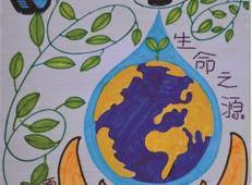 关于节约用水的儿童画画图片大全 (43).jpg