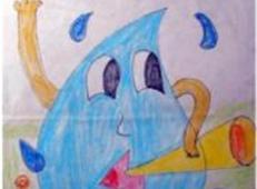 关于节约用水的儿童画画图片大全 (10).jpg