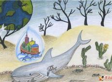 关于节约用水的儿童画画图片大全 (15).jpg