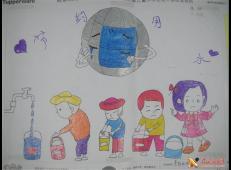 关于节约用水的儿童画画图片大全 (25).jpg