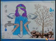 关于节约用水的儿童画画图片大全 (53).jpg