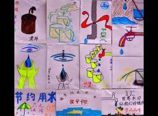 关于节约用水的儿童画画图片大全 (50).jpg