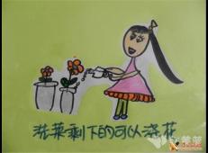 关于节约用水的儿童画画图片大全 (34).jpg