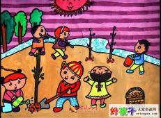 植树节儿童画图片 (19).jpg