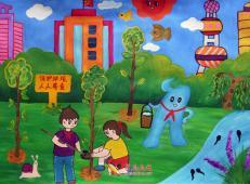 植树节儿童画图片 (4).jpg