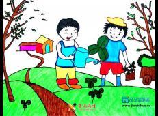 植树节儿童画图片 (6).jpg