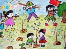 植树节儿童画图片 (7).jpg