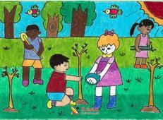 植树节儿童画图片 (52).jpg