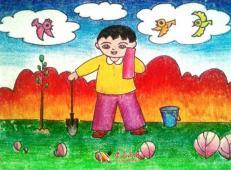 植树节儿童画图片 (17).jpg