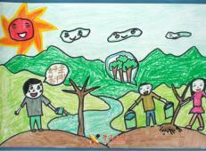 植树节儿童画图片 (25).jpg