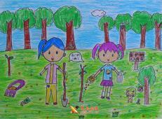 植树节儿童画图片 (40).jpg